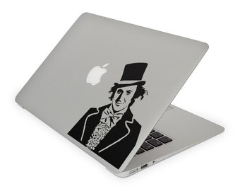 Willy Wonka Decal - Charlie and the Chocolate Factory Decal / Gene Wilder