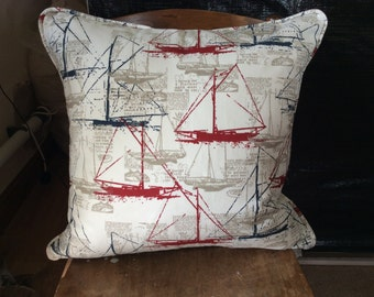 Nautical, boat, cushion, pillow