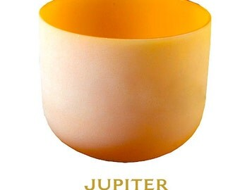 crystal sound bowl orange