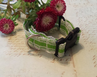 Small Lace Pet Collar