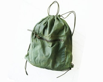 Handmade Leather Bag Backpack