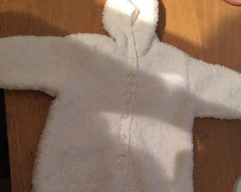Hand Knitted Snow Suit