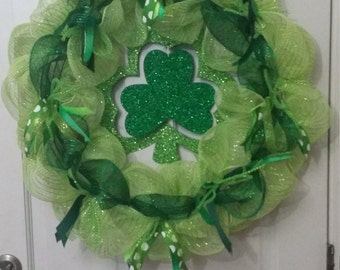 St. Patrick's Day Lucky Wreath