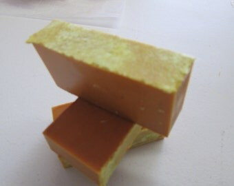 Handcrafted Soaps, All Natural, Turmeric Butterscotch