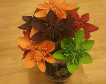 Kusudama 8 paper  flowers