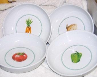 "Set of 4 Ragu Rewards Pasta - 7 1/2"" Bowls"