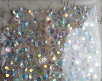Jelly Rhinestones, 4mm Rhinestones, Clear AB Jelly Rhinestones, 4mm Clear, Quality Rhinestones, AB Rhinestones, Jelly AB, 4mm Jelly, jelly
