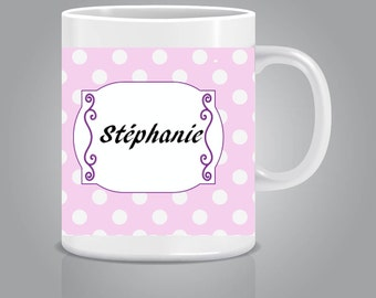 Custom mug Mug pea pink
