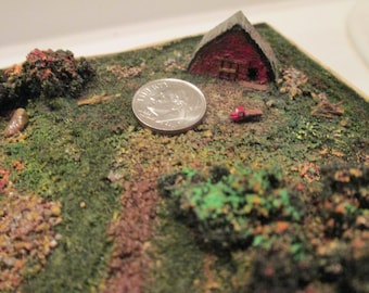 Miniature sculpture, Diorama, Aroostook County, Maine