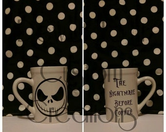 Jack Skellington The Nightmare Before Coffee