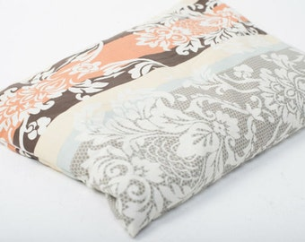 Color Eco Pillow with buckwheat hulls filling. Natural and organic pillow.