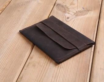 Ipad Mini leather sleeve. Simple leather case for Ipad Mini. Ipad leather case. Ipad Mini leather pocket.