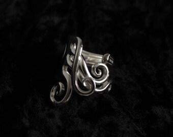 Vintage Forkring fork boho jewelry ring