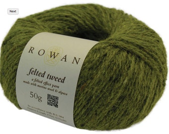 Rowan Felted Tweed blend of merino wool, alpaca and viscose yarn DK 50g 175m