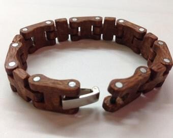 Bracelet wood lacewood