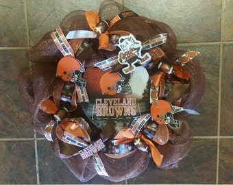 Cleveland Browns Wreath