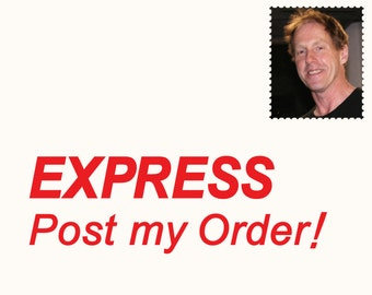 EXPRESS POST OPTION Australia only. Next business day delivery within Australia.