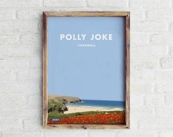Polly Joke Travel Print