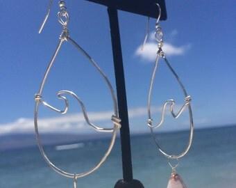 Wave Shell Earrings