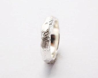 Silver Lava Ring BP0010110