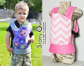 Pink Zig Zag Tiny Toola - Doll Carrier