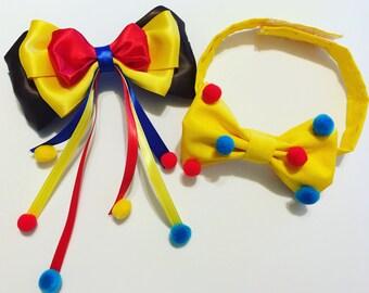 Curious George Hair Bow Curious George Boy Bow Tie Curious George Bow Yellow Bow Tie Little Boy Bow Tie