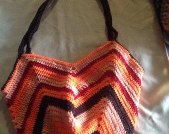 Crochet market/beach bags