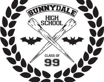Buffy the Vampire Slayer - Sunnydale High - Decal