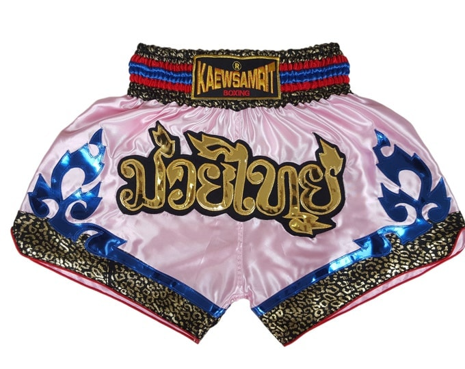 Original Muay Thai Boxing Shorts Martial Arts - Pink