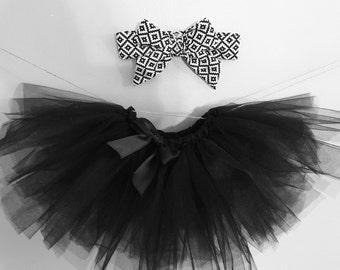Black tutu and Headwrap