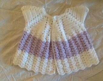 Newborn short-sleeved baby jacket