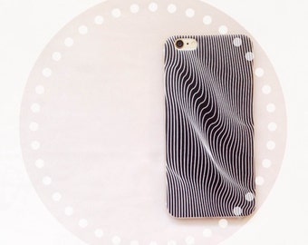 Iphone Case, Illusion line cell phone case, silicone Iphone 6 plus cover,  Phone case