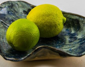 Ceramic Leaf Bowl Candy Dish