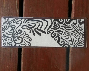Abstract Lines bookmark