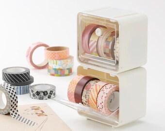 Tape Storage Case / Masking Tape Organizer / Tape Holder