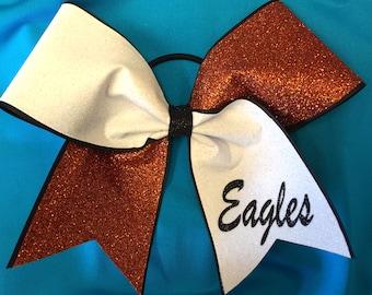 Glitter Custom Cheer Bow