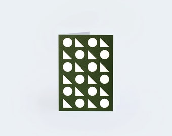 Toybox Greetings Card - Green