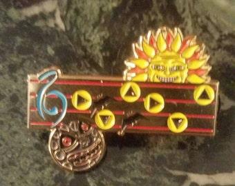 "Zelda inspired ""Suns Song"" pin"