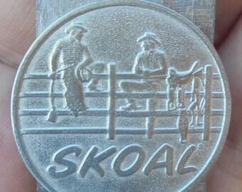 new Skoal 2-cowboys on fence money clip