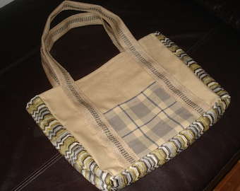 Furniture Upcycled Tote Bag