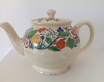 Pretty Floral Teapot