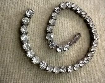 Vintage Faux Diamond Tennis Bracelet