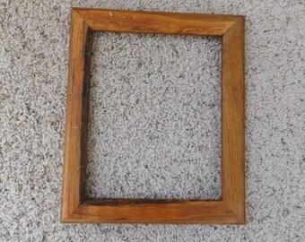 8x10 Finished Oak Frame (#5315)