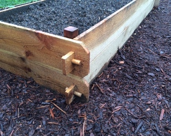 Cedar Raised bed boxes 72""