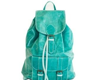 Turquoise Marine Rucksack