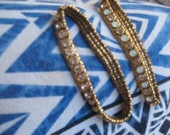 Danish Pink Crystal Bracelets