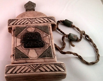 Ethiopian Stone Prayer Box