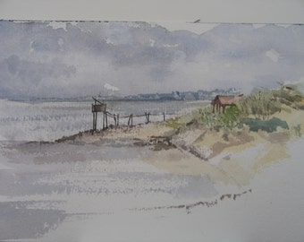 The Gironde estuary