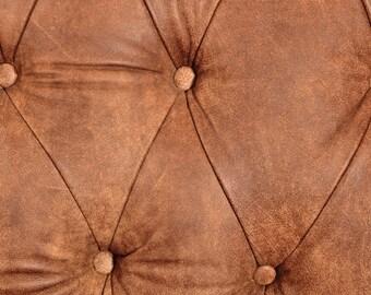 Luxury Italian Full Hide Aniline / Arizona Brown