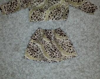 Cuddle Me Leopard Print Two Piece